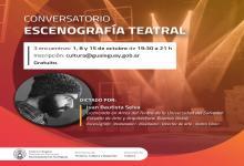 Ofrecen un conversatorio sobre Escenografía Teatral