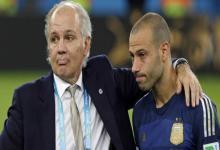 """Mascherano despidió a Sabella: """"Vuela alto, maestro"""""""