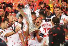 Con Ocampos, Banega y Vázquez, Sevilla gritó campeón de la Europa League