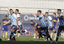 Racing eliminó a Boca en los penales y es finalista de la Copa de la Liga Profesional