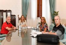Encuentro en casa de gobierno