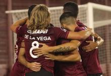 Lanús eliminó a Vélez con contundencia y es finalista de la Copa Sudamericana