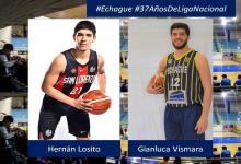 Echagüe completó su plantel con las llegadas de los U23 Gianluca Vismara y Hernán Losito