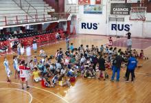 Rocamora ajusta detalles para el Encuentro de Minibásquet en Vacaciones