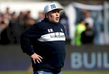 El entrerriano Guiffrey reveló qué les dijo Maradona en su última charla técnica
