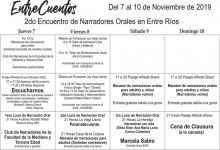 II Encuentro de Narradores Orales en Entre Ríos