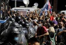 Funeral de Maradona: gobierno denunció a Larreta y a Santilli por accionar de la policía