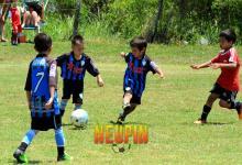 La lluvia no impidió el cierre del torneo de fútbol infantil Neupín