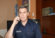 Imagen de archivo del jefe de la Departamental Gualeguaychú, comisario mayor Cristián Alejandro Hormachea.