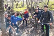 Los Menores de 17 años del Club Tilcara desarrollaron una travesía en bicicleta