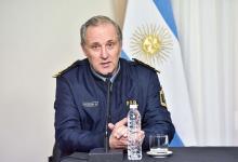 Comisario general Gustavo Maslein.