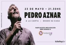"""Pedro Aznar  a """"la carta"""""""
