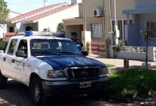 El despliegue policial impactó en Villa Elisa.