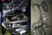 Las víctimas fatales se desplazaban en moto, mientras que los cuatro heridos restantes viajaban en un automóvil.