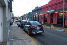 Uno de los allanamientos por presunto lavado de activo se realizó en un local comercial ubicado en 1° de Mayo, entre Bolivia y Colón, de Concordia.