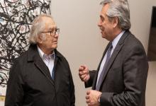 El Nobel de la Paz, Adolfo Pérez Esquivel apoya abiertamente al candidato K, Alberto Fernández.