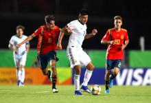 Mundial Sub 17: Argentina empató sin goles en su debut frente a España