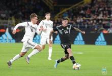 Argentina reaccionó en el segundo tiempo y logró un empate en su visita a Alemania