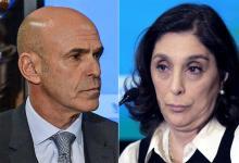 Los ex jefes de la AFI macrista, Gustavo Arribas y Silvia Majdalani.