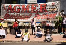 AGMER protesta Jornada Nacional