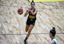 """""""Estoy contenta por el rol que tengo en el equipo"""", indicó la entrerriana Agustina Marín"""