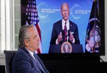 Biden agradeció a Alberto Fernández su participación en la agenda de cambio climático