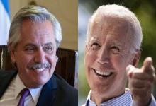 Biden invitó a Alberto Fernández a participar de una cumbre sobre Energía y Clima