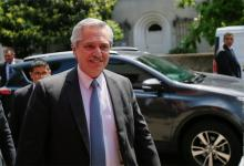 El presidente electo Alberto Fernández.