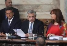Imagen de archivo cuando Alberto Fernández presidió la apertura del 138° período de Sesiones Ordinarias.