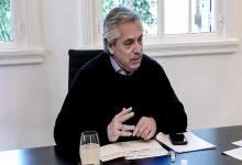 """El Presidente Alberto Fernández aseguró que se siente """"bien""""."""
