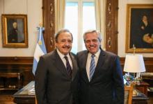 Alfonsín y Fernández