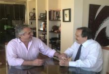 Alberto Fernández y Ricardo Alfonsín.