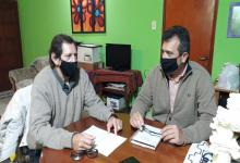 Alfredo Blochinger y Oscar Aliano, integrantes de Alternativa Radical