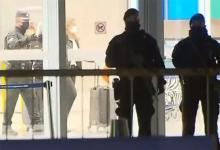 La movilización de la PSA en Ezeiza fue en relación a un avión de la línea Aeroméxico, que arribó al país cerca de las 22:30 de anoche.