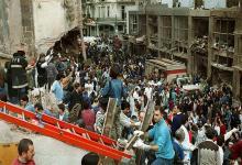 El ataque terrorista causó 85 muertos el 18 de julio de 1994 en la mutual judía del barrio porteño de Once.