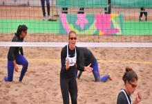 Beach Volley: la entrerriana Ana Gallay festejó en el inicio de los Juegos Panamericanos