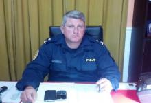 Jefe de la Departamental de Policía de Paraná, Marcos Antoniow