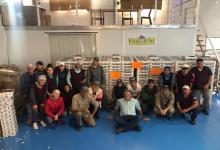 Una empresa de Concordia concretó el primer embarque de arándanos a Israel
