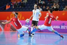 Mundial de Futsal: Argentina goleó a Paraguay y avanzó a los cuartos de final