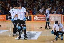 Hockey sobre patines: los varones tampoco pudieron en la definición con Portugal