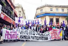 marcha Ni una menos en Paraná (archivo)