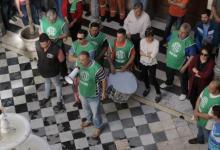 ATE marchó a la Municipalidad de Paraná en rechazo a la oferta salarial