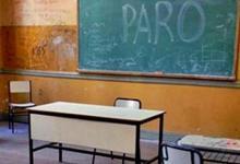 aula vacía paro