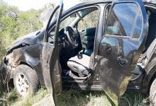 Un joven fue hospitalizado tras volcar su auto en María Grande