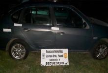 auto secuestrado en Paraná