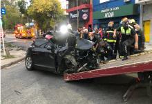 Dos hermanas murieron al chocar un auto y pidieron detener al conductor y acompañante