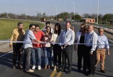El gobernador Gustavo Bordet inauguró el Acceso Sur a Villaguay, entre otras obras y aportes que hizo en ese Departamento.