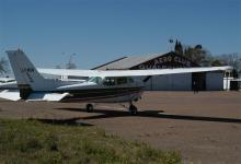 El aeródromo de Gualeguaychú permanece clausurado para vuelos sanitarios, pero lo habilitan por horas para instancias comerciales.