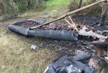 La avioneta accidentada fue hallada en un monte a 15 kilómetros al Sur Este de Alcaraz. Su piloto permanece en grave estado de salud.