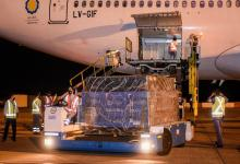 Llegó un nuevo vuelo desde Moscú con 815.150 dosis de la Sputnik V